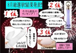sousennkyo 1 300x212 8月の総選挙結果発表~ショートコースご好評につき延長中‼~